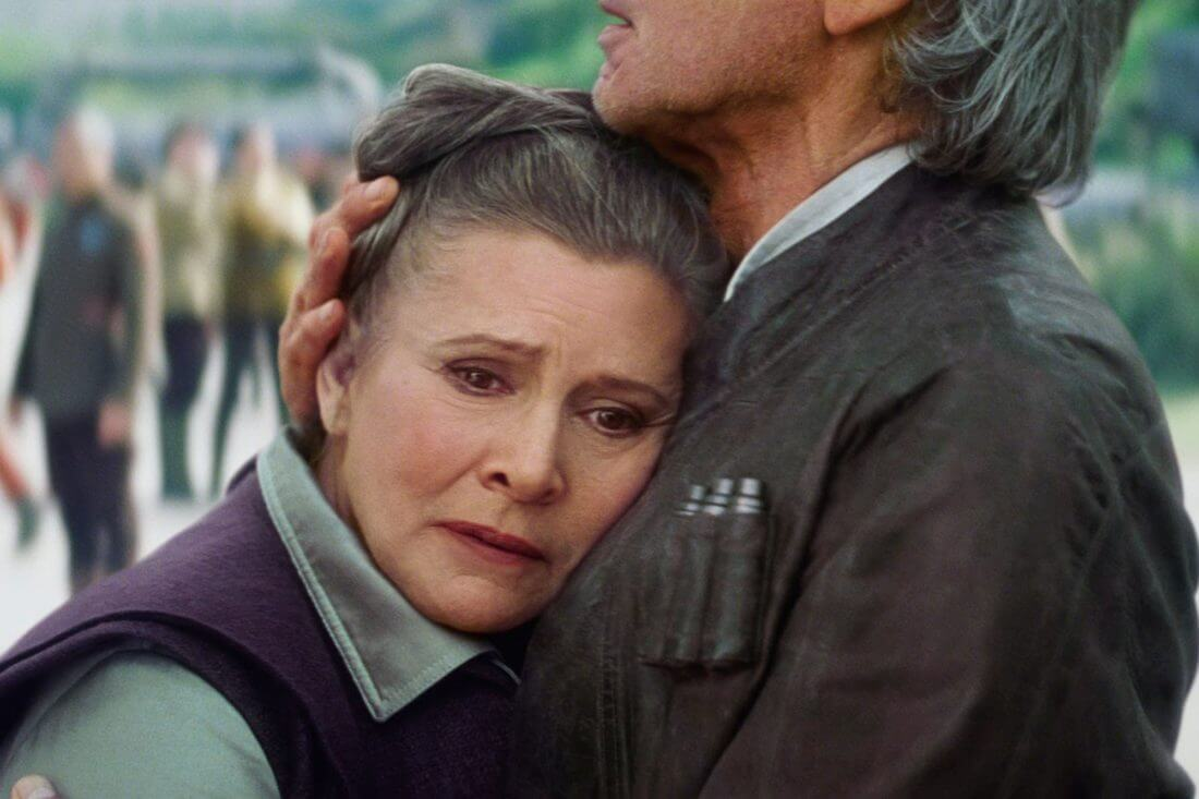 Carrie Fisher Star Wars Para na film 2