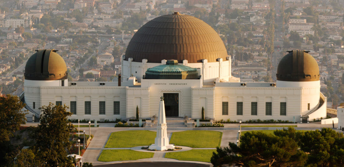 słynne Griffith Observatory - Buntownik bez powodu