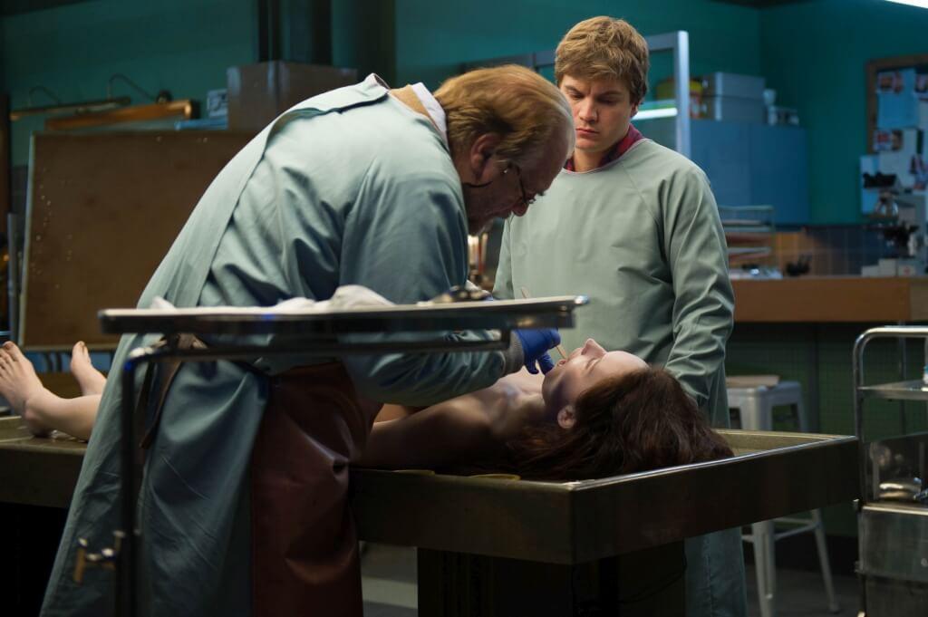 autopsja jane doe para na film